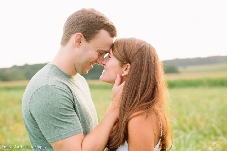 Mapleview Ice Cream Engagement Session