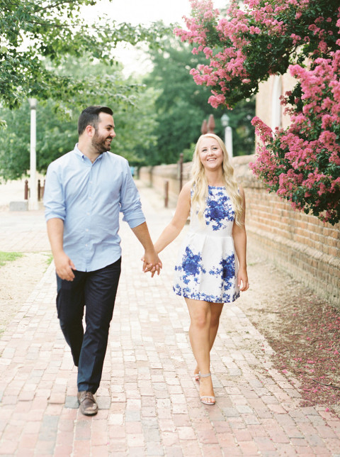 williamsburg engagement session