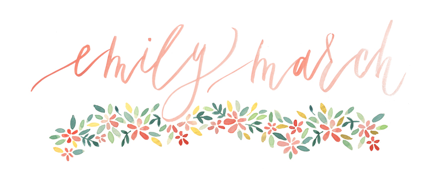 Emily March Photography | Chapel Hill Destination Wedding Photographer logo